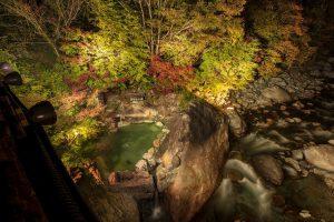 新穂高紅葉散策 夜空を楽しむ会